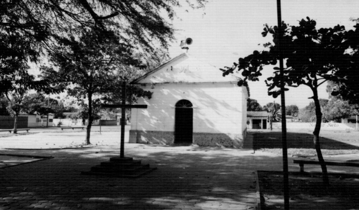 Capela Nossa Senhora do Amparo, primeira construção